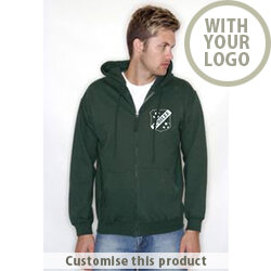 Printed Zip Hoody 121937 - Customise with your brand, logo or promo text