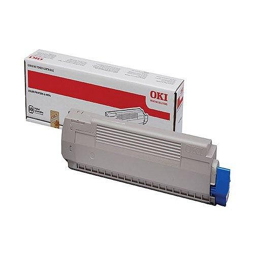 OKI Laser Toner Cartridge Page Life 7300pp Magenta Ref 44059166