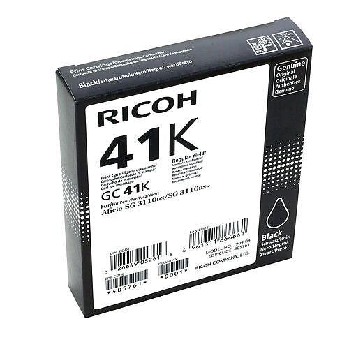 Ricoh 405761 GC41B Toner Cart HY Blk