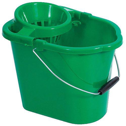 Oval Mop Bucket 12 Litre Green