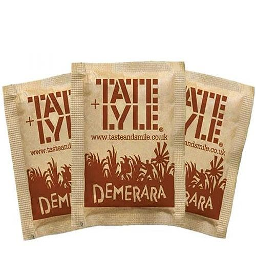 Tate &Lyle Brown Sugar Sachets Pack 1000