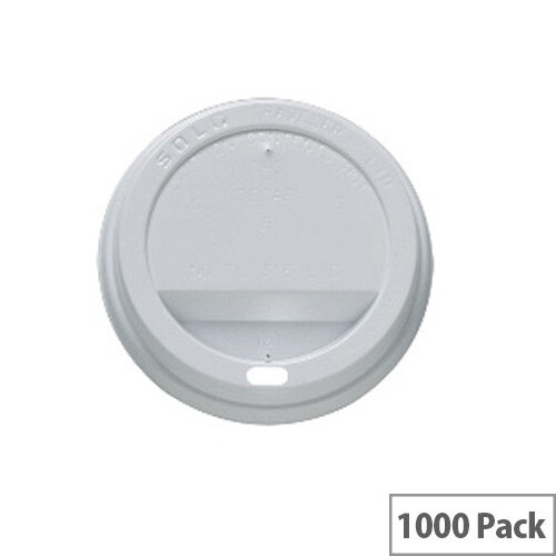 Ripple Disposable Lids for 12oz/350ml Ripple Cups Brown [Pack of 1000] Ref 4028227