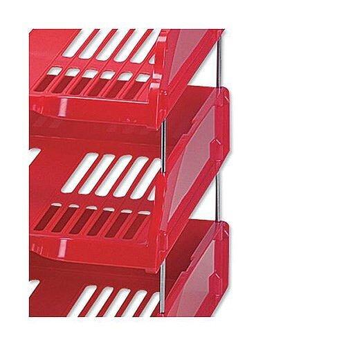 Esselte Riser for Transit Letter Tray Set of 4 Pack of 20 Sets Ref 15658