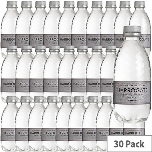 Harrogate Sparkling Water Bottel 330ml Ref P330302C Pack 30
