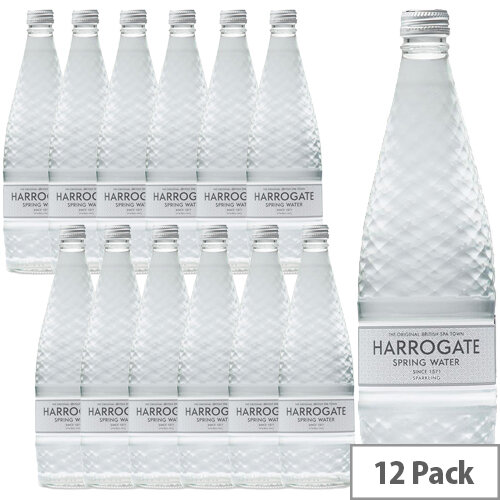 Harrogate Sparkling Water Glass Bottled 750ml Ref P750122C Pack 12