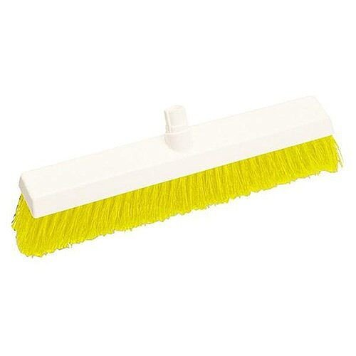 Scott Young Research Hygiene Broom Hard 12 inch Yellow Ref 4027895