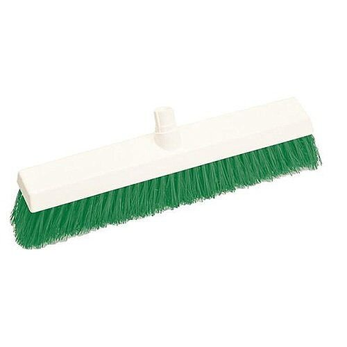 Scott Young Research Hygiene Broom Hard 12 inch Green Ref 4028215