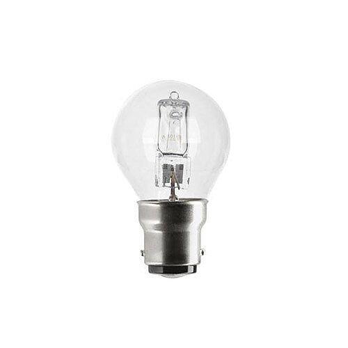 GE Lighting (240W) Spherical Dimmable Halogen Bulb D Energy Rating 235 Lumens (Pack of 12) 98386