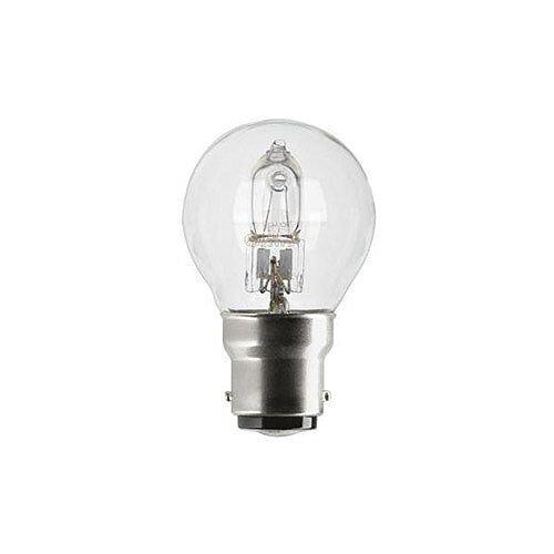 GE Lighting (240W) Spherical Dimmable Halogen Bulb D Energy Rating 630 Lumens (Pack of 12) 76549