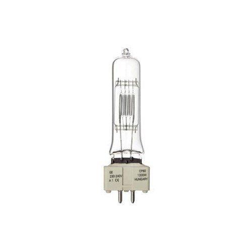 GE Lighting 1200W Tubular Dimmable Halogen Bulb C Energy Rating 33000 Lumens Ref 88453 [Pack 12]