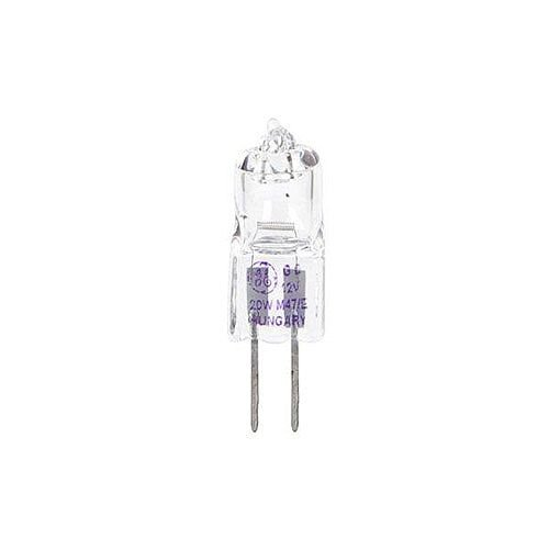 GE Lighting (10W) Tubular Dimmable Halogen Bulb C Energy Rating 120 Lumens (Pack of 20) 93010695