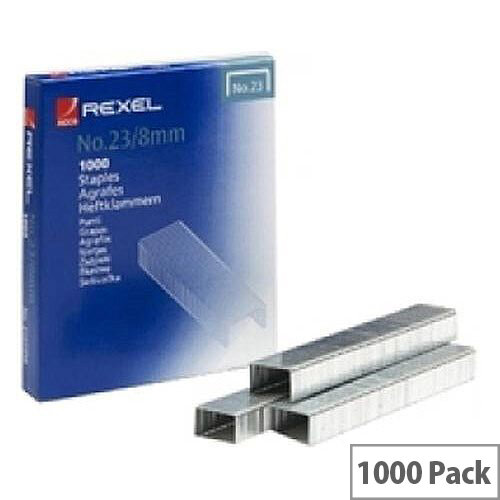 Rexel  3/ 8mm  Staples for Rexel Trackers and Heavy Duty Staplers  Box of 1000