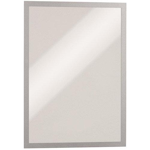 Durable DURAFRAME  A3  Magnetic Frame  Silver Pk 5