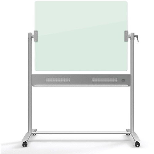 Nobo Diamond  900x1200mm  Magnetic Glass Mobile Whiteboard Ref 1903943
