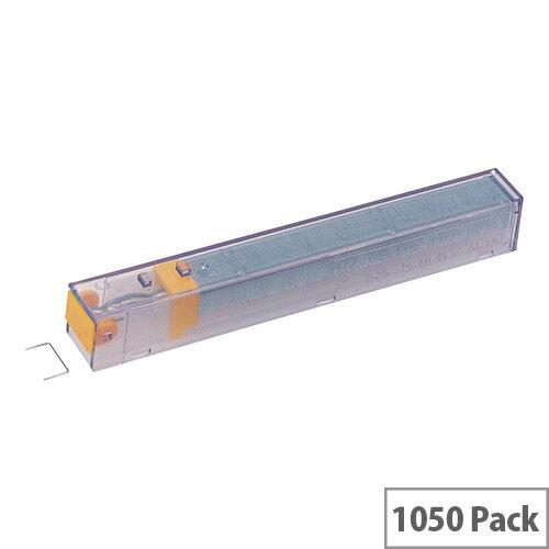 Leitz Staple Cassette Cartridge 210 Staples K8 Yellow Ref 55920000 [Pack 5]
