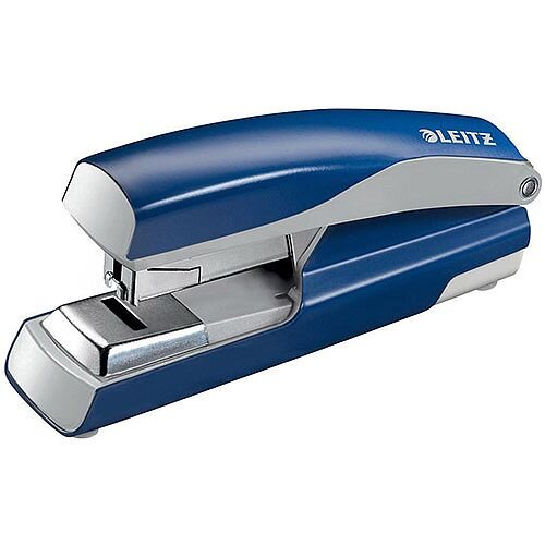 Leitz 5523 Metal Stapler  Metallic Blue  40 Sheets of 80gsm Paper