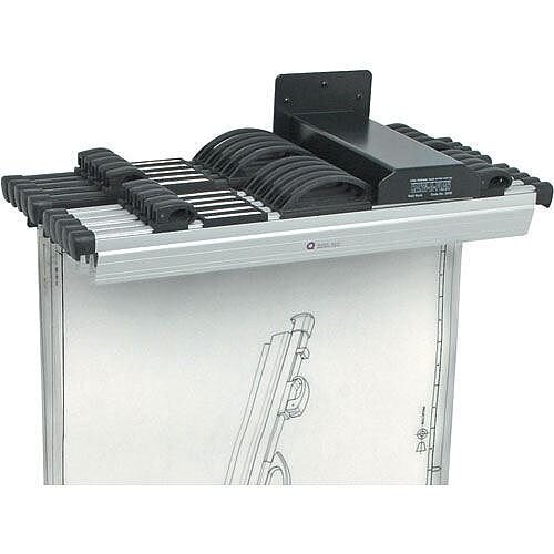Hang-A-Plan Front Load Wall Rack for 10 Binders A0-A3 Arnos