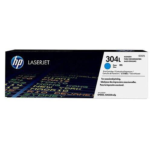 HP 304L LaserJet Original Economy Toner Cyan Ref CC531L