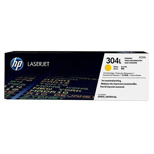 HP 304L Economy Yellow LaserJet Toner CC532L
