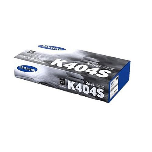 Samsung K404S (Yield 1,500 Pages) Black Toner Cartridge for Xpress SL-C43x Series Colour Laser Printers CLTK404SELS