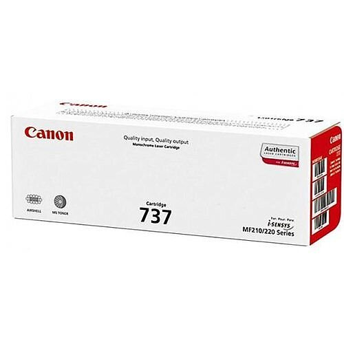 Canon 737 Black Laser Toner Cartridge 9435B002AA