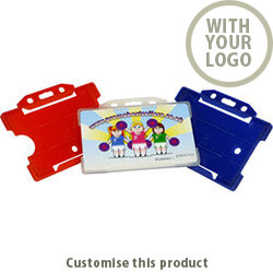 RCH- Rigid Card Holder 131394 - Customise with your brand, logo or promo text