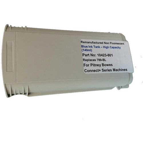 Totalpost Franking Inkjet Cartridge  Blue  for Pitney Bowes Connectplus Series