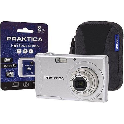 Praktica Luxmedia Z250 20MP Digital Camera Kit 5x Optical ...