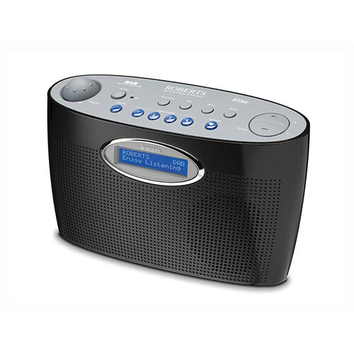 Roberts Elise Digital Radio  Black