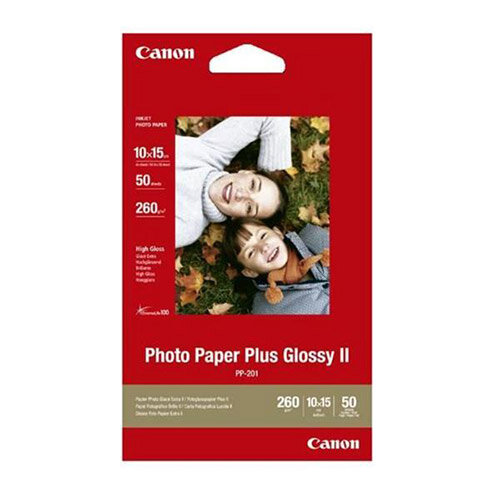 """Canon 6x4"""" Glossy Photo Paper Plus (Pack of 50)"""