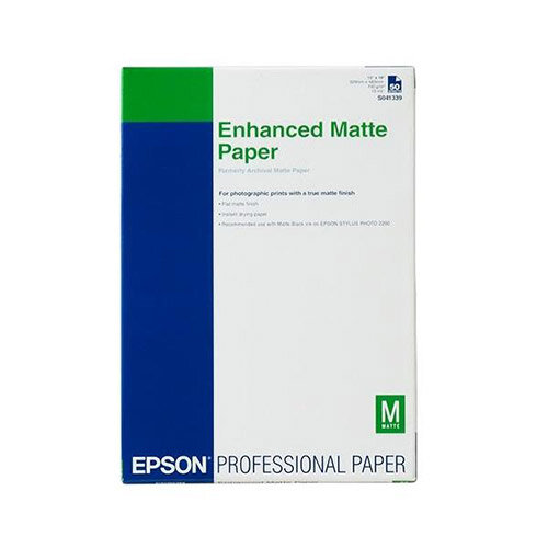 Epson A2 Matte Enhanced Paper (Pack of 50)