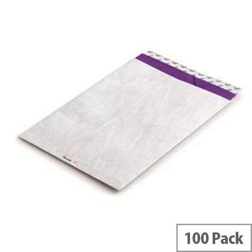 Tyvek Envelope  E4  394x305mm White  Pack of 100