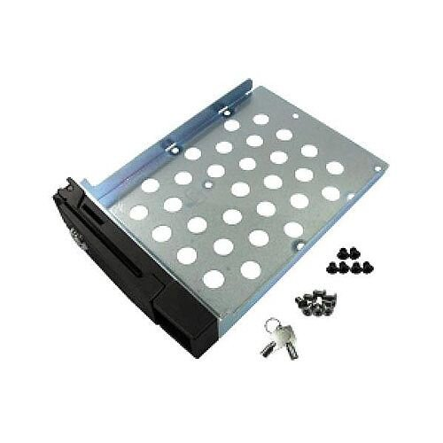 QNAP Hard Drive Tray with Lock for TS Series NAS Servers 2.5/3.5 inch Hard Disk Drives (Black)