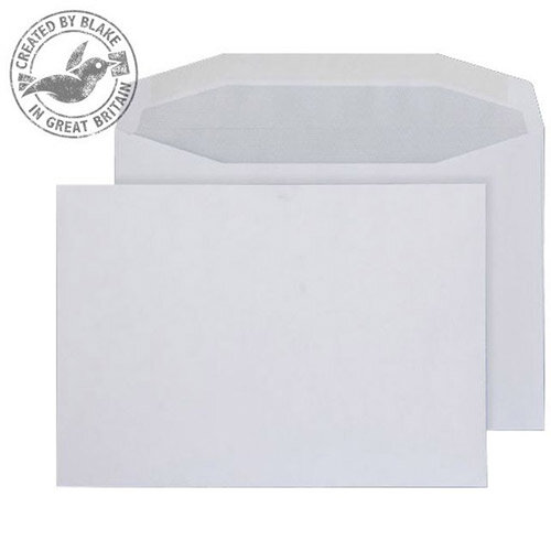 Purely Everyday Mailer Gummed White 90gsm C5 162x229mm (Pack of 500)