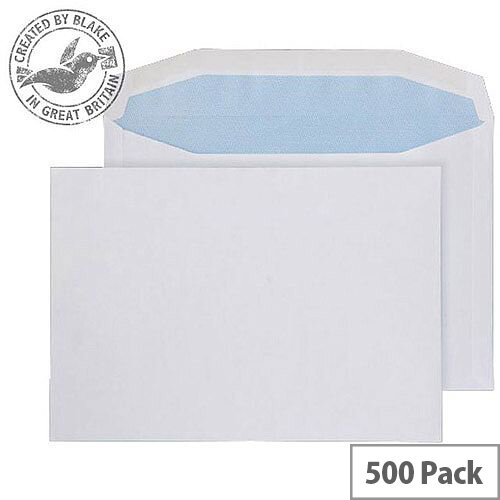 Purely Everyday Mailer Gummed White 100gsm C5 162x229mm (Pack of 500)
