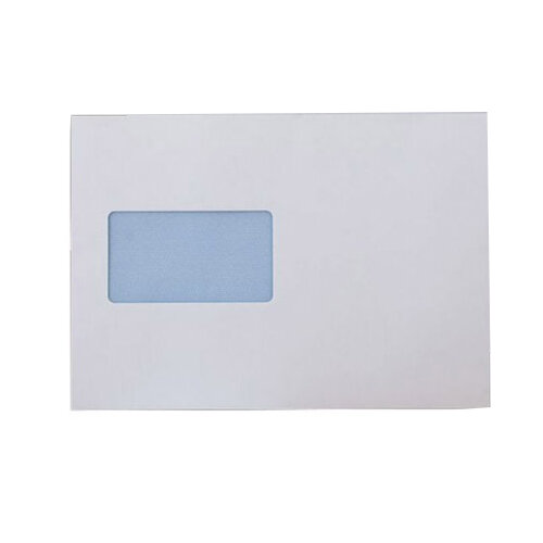 Purely Everyday Mailer Gummed CBC Window White 90gsm C5 162x229 (Pack of 500)
