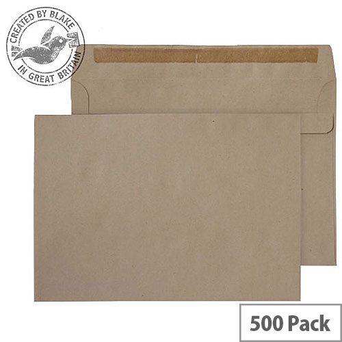 Purely Everyday 90gsm Manilla Self Seal Wallet C5 162x229mm (Pack of 500)