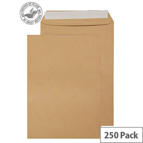 Purely Everyday Pocket P& Manilla 115gsm C4 324x229mm (Pack 250)