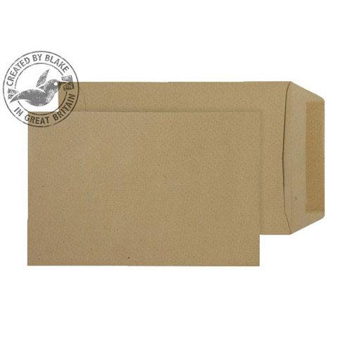 Purely Everyday Pocket Envelopes Gummed Manilla 80gsm 229x102mm Pack of 500
