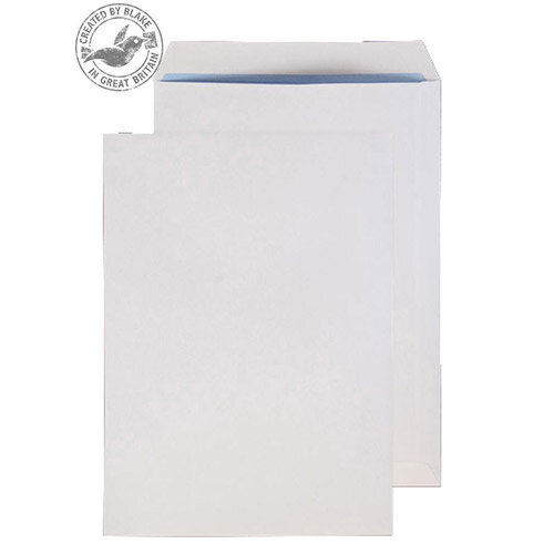 Purely Everyday White Gummed 120gsm Pocket C4 324x229mm (Pack of 250)