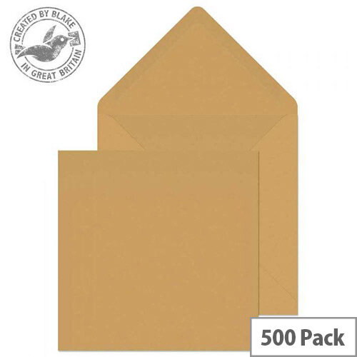 Purely Everyday Square Banker Invitation Gummed Manilla 155x155 90gsm (Pack of 500)