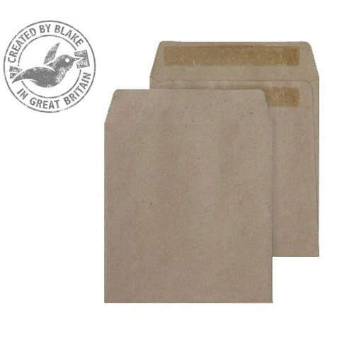 Purely Everyday Wage Pocket Envelopes Unprinted Self Seal Manilla 80gsm 108x102mm Pack of 1000