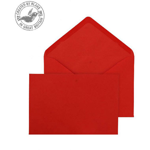 Purely Everyday Red Banker Invitation C6 Envelopes (Pack of 500)