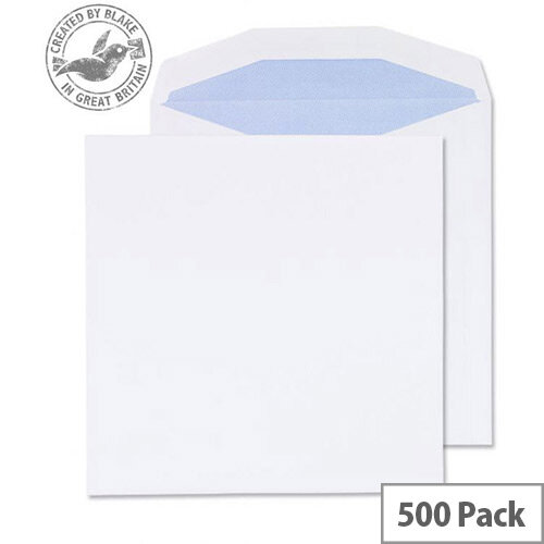 Purely Everyday Mailer Gummed White 100gsm 220x220mm (Pack of 500)
