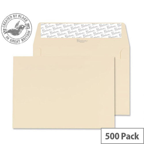 Blake Premium Cream Business Wallet C6 (Pack of 500)