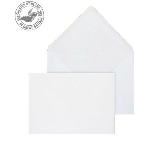 Purely Everyday Banker Invitation Gummmed White Wove 120gsm 133x197mm Pack of 500