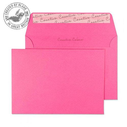 Creative Colour Flamingo Pink C6 Wallet Envelopes (Pack of 500)