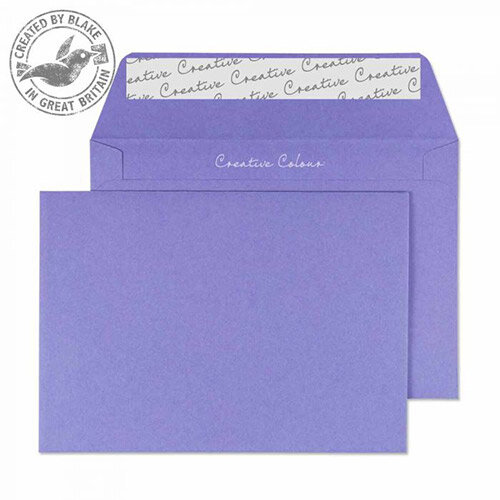Creative Colour Summer Violet C6 Wallet Envelopes (Pack of 500)