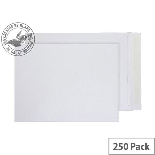 Purely Everyday Pocket Envelopes Peel and Seal White 100gsm 305x229mm Pack of 250