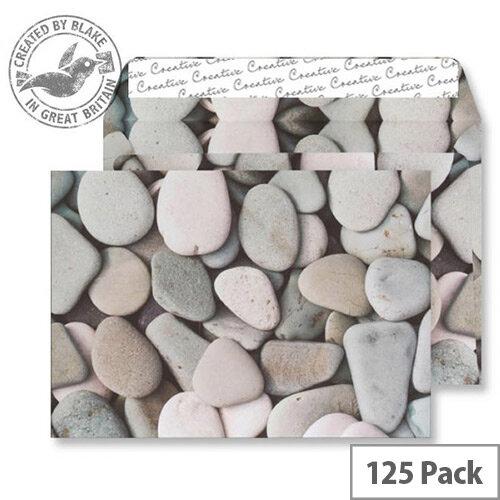 Creative Senses Purbeck Pebbles Pattern Wallet C5 Envelopes (Pack of 125)